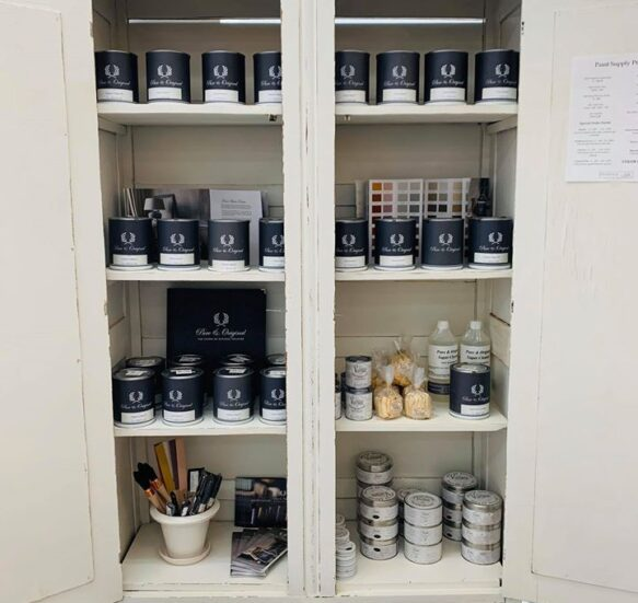 Peace by Piece Paint Display